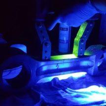 Contrôle par magnétoscopie fluorescente